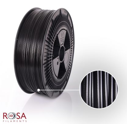 PETG Standard 3kg Black ROSA3D