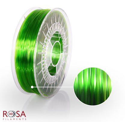 PETG Standard Light Green Transparent ROSA3D