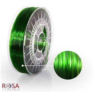 PETG Standard Pure Green Transparent ROSA3D