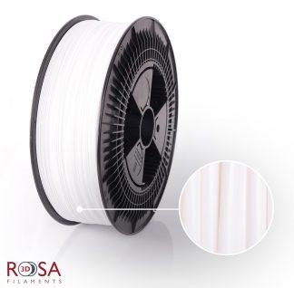 PLA Starter 3kg White ROSA3D