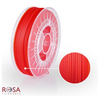 PLA Starter Red Transparent ROSA3D