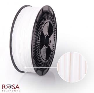 PLA Plus ProSpeed 3kg White ROSA3D