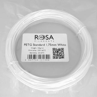 PET-G Standard White 100g ROSA3D